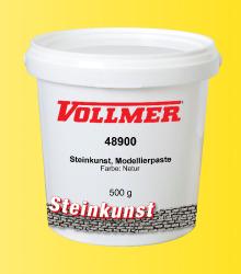 VOL/Steinkunst, Modellierpaste, Farbe Natur, 500 g