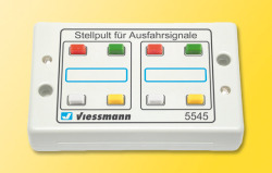 Control Panel for Exit Signals