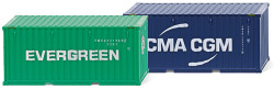 "Zubehörpackung - 20 Container (NG) ""Evergreen"" & ""CMA-CGM"""