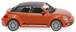 VW The Beetle Cabrio - habanero orange metallic
