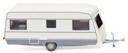 Wohnwagen (Dethleffs 530) – weiß-grau