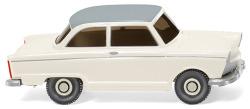 DKW Junior de Luxe - perlweiß mit grauem Dach