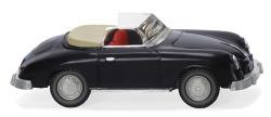 Porsche 356 Cabrio - schwarz
