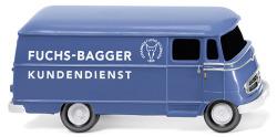"""Kastenwagen (MB L 319) """"Fuchs-Bagger Kundendienst"""""""
