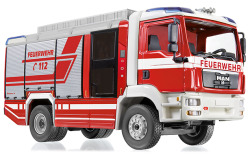 Fire brigade - Rosenbauer AT LF (MAN TGM)