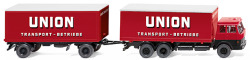 Kofferlastzug (Hanomag Henschel) Union Transport