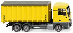 Abrollcontainer (MAN TGX EURO 6c/Meiller) - zinkgelb