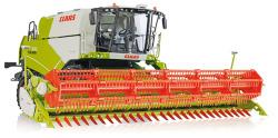 Claas Tucano 570 Mähdrescher mit Getreidevorsatz V 930