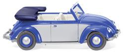 VW Käfer 1200 Cabrio - blau/silber