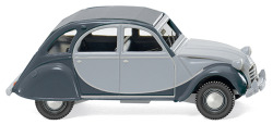 Citroën 2 CV Charleston - silbergrau/schiefergrau