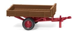 Allgaier single-axle trailer – fawn