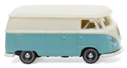 VW T1 Kastenwagen - pastelltürkis/cremeweiß