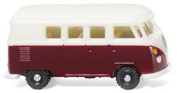 VW T1 Bus - weinrot/weiß