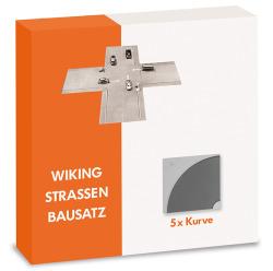 Strassen-Bausatz - Kurve (5 Stück)