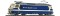 Bemo 1259301 MOB Ge 4/4 8001 electric loco blue/cream