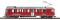 Bemo 1266143 RhB ABe 4/4 43 Berninabahntriebwagen rot/braun
