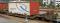 """Bemo 2289164 RhB Sbk-v 7704 mit Planenbehälter """"Gfeller"""" weiß"""
