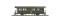 Bemo 3230140 RhB B 2060 Zweiachser historischer Dampfzug