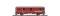 Bemo 3236112 RhB D 4062 Packwagen rot