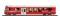 Bemo 3249111 RhB BDt 1751 pilot car NEVA-Retica bright red
