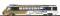 """Bemo 3288313 Arst 151 panoramic coach pilot car """"Golden Pass"""""""