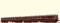 Brawa 44704 H0 Triebwagen 60+145 DB III DC BAS+