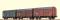 Brawa 45901 H0 Güterwagen Gms 30 EUROP, III [3er-Set]