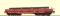 Brawa 47005 H0 Schwerlastwagen Samms mit Ladegut DB AG, V