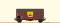 Brawa 47964 $ H0 Güterwagen Gms30 DB, III, Erdal