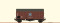 Brawa 47969 $ H0 Güterwagen Gms30 DB, III, Henschel