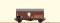 Brawa 67314 $ N Güterwagen Gms35 DB, III, Osram