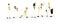 Brekina 10503 Figurenset Boxencrew weißes Team von Noch