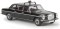 Brekina 13406 MB 220 D/8 lang Taxi (schwarz) von Starmada