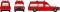 Brekina 13801 MB /8 Krankenwagen, feuerrot von Starmada