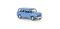Brekina 15209 Morris Minor, kobaltblau, LHD, TD