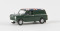 Brekina 15359 Austin Mini Van Union Jack, moosgrün, TD