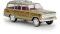 Brekina 19856 Jeep Wagoneer, gold woody, TD