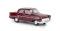 Brekina 20883 Opel Kapitän `56, rot