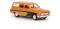 Brekina 27116 Wartburg 311 Camping orange/schwarz, TD