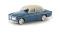 Brekina 29237 Volvo Amazon 4türig, azurblau/hellelfenbein, TD