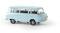 Brekina 30036 Barkas B 1000 Bus, hellblau, TD