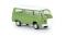 Brekina 33139 VW T2 Camper, grün, mit Aufstelldach