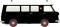Brekina 34409 Fiat 238 Krankenwagen Falck, schwarz/weiß, TD