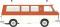 Brekina 34413 Fiat 238 Krankenwagen Falck, rot/weiß, TD