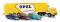Brekina 48032 MB LPS 338 Autotransport-SZ Opel mit 3 Olympia