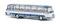 Brekina 58206 Setra S 12 grünblau/weiß von Starline