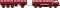 Brekina 58400 Fiat 690 Millepedi, rot/schwarz von Starline