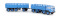 Brekina 58403 Fiat 690 Millepiedi, blau, von Starline