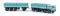Brekina 58406 Fiat 690 Millepiedi türkisblau/schwarz von Starline