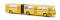 Brekina 59700 Ikarus 280 Gelenkbus, maisgelb, TD